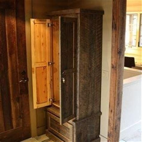 pallet wood gun cabinet plans 17 best gun cabinets images on pinterest woodworking