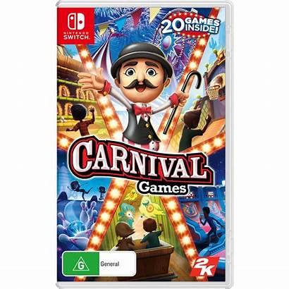 Games Carnival Switch Nintendo Close Master