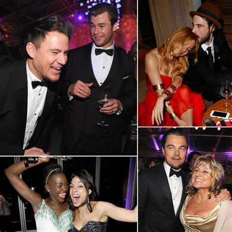 Celebrities Inside The Vanity Fair Oscars Afterparty