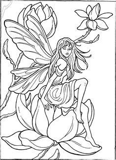 Fairy Coloring Page … | Fairy coloring, Fairy drawings