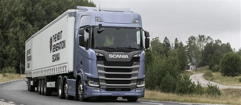 scania trucks scania s new truck generation fuel efficiency reaching
