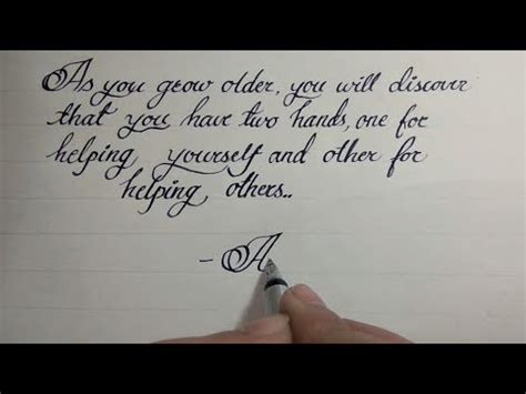 Beautiful English Handwriting Styles  English Handwriting Cursive Styles #15 Youtube