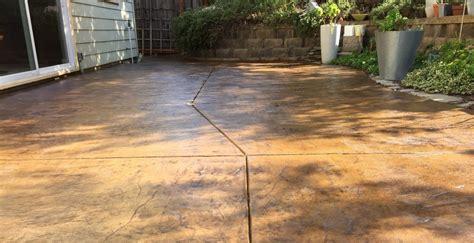 concrete stain  sealer patio makeover concrete exchange