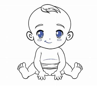 Draw Drawing Drawings Cartoon Clipart Outline Step
