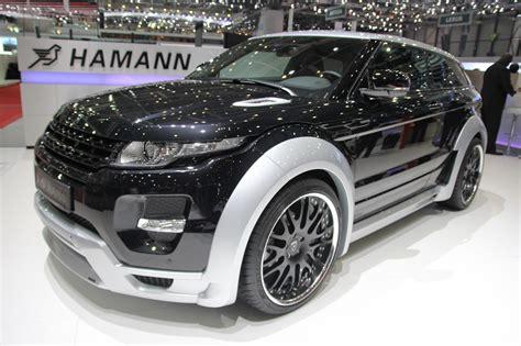 Hamann Range Rover Evoque Ook In Het Echt Heel Fout