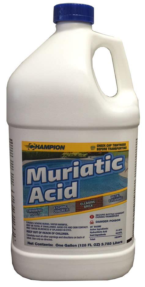 muriatic acid muriatic acid chion packaging
