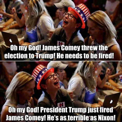 Comey Memes - monday memes 5 15 17 indelegate