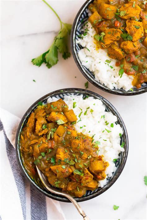 jamaican curry chicken easy ingredients wellplatedcom