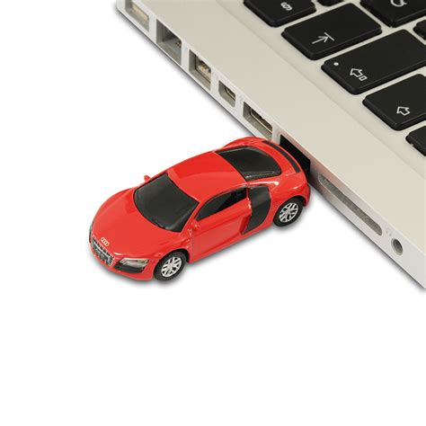 Audi R8 V10 Sports Car Usb Memory Stick Flash Drive 4gb