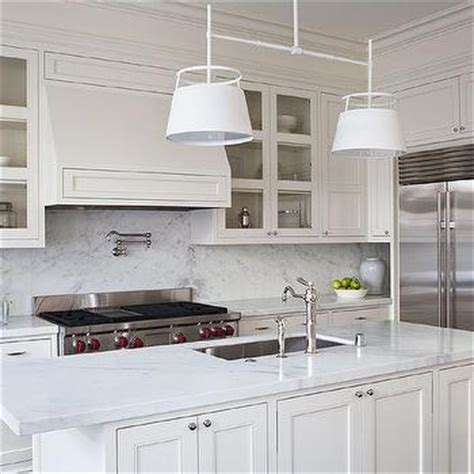 white kitchen cabinets white countertops kitchen island design ideas 1809