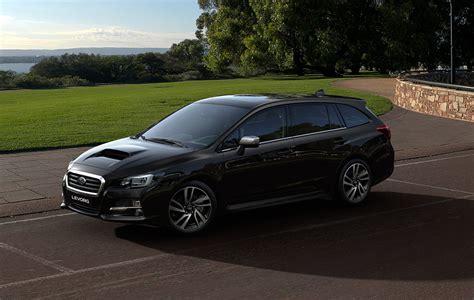 20182019 Subaru Levorg Black Color Side View Hd Wallpaper