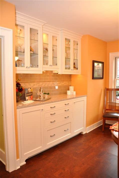 Built-in buffet cabinet - Craftsman - Kitchen - seattle