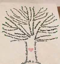 wedding program maker 50 free family tree crafts patterns at allcrafts