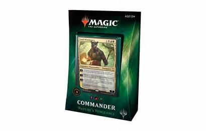 Commander Vengeance Nature Mtg Deck Magic Box