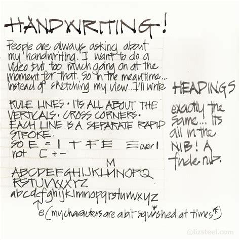My Architect's Handwriting!  Liz Steel  Liz Steel