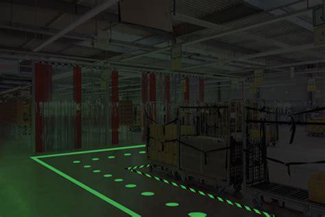 glow   dark floor signs    safetyhealth