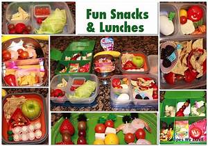 Healthy recipes for children's lunch boxes