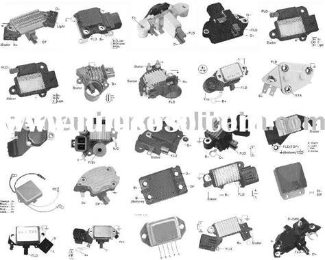 alternator regulator for mercedes 24v 55a