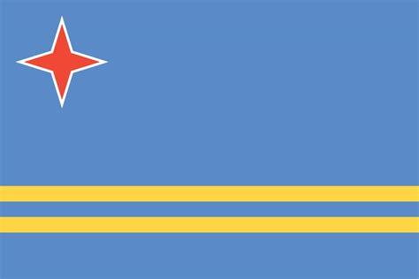 Aruban Flag (flag Of Aruba)
