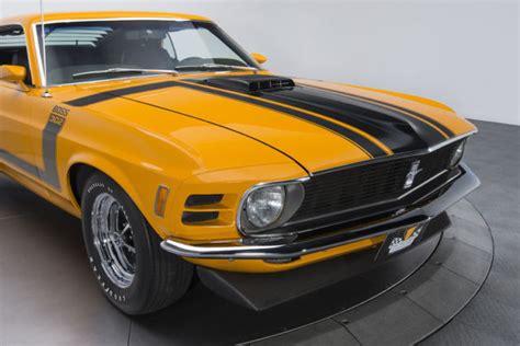 1970 Ford Mustang Boss 302 74670 Miles Grabber Orange