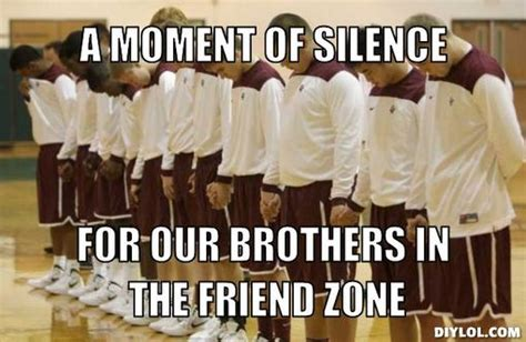 Moment Of Silence Meme - the friend zone why we still need feminism thommy dee