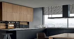 La cuisine noire on adore son look deco cool for Idee deco cuisine avec cuisine moderne grise et noire
