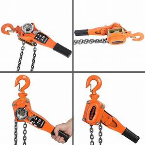3 Ton Lever Block Chain Lever Lift Hoist Block Manual