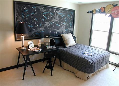 themed room decor bedroom decorating with a space theme