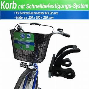 Fahrradkorb Vorne Anbringen : einkaufskorb abnehmbar vorne fahrradtasche easy click ~ Lizthompson.info Haus und Dekorationen