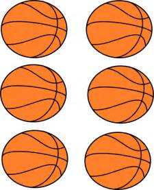 Free Printable Basketball Clip Art