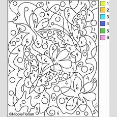 Nicole's Free Coloring Pages Color By Number * Coloring Pages
