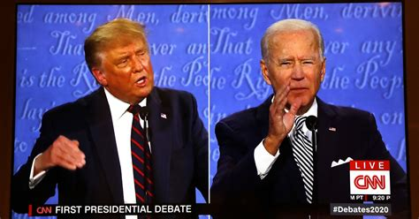biden trump debate america win showed really they political president jones september