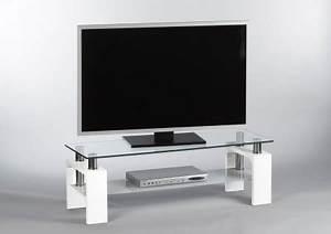 Tv Lowboard Glas : tv lowboard hochglanz wei glas kaufen bei lifestyle4living m belvertrieb gmbh co kg ~ Orissabook.com Haus und Dekorationen