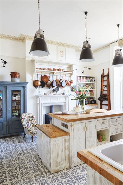Open Kitchen Shelves Decorating Ideas - 19 wonderfully made vintage style kitchens gosiadesign com