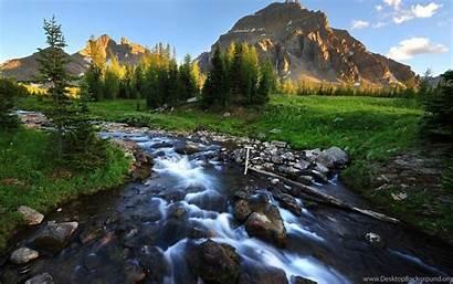 Scenery Mountain Wallpapers Stream Desktop Background