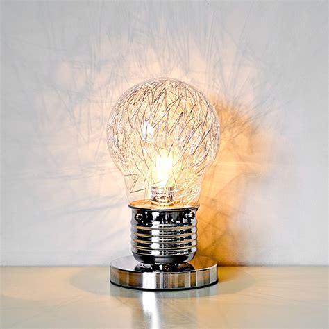 Light Bulb Shaped Table Lamp Lh73t Be Fabulous