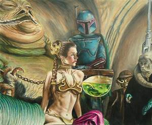 Star Wars Leia Jabba Fan Fiction Pictures to Pin on ...