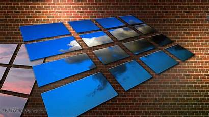 Virtual Desktop Wallpapers Backgrounds Wall Brick Riot