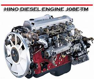 Hino Diesel Engine J08e-tm J08e Engine Service Repair Manual