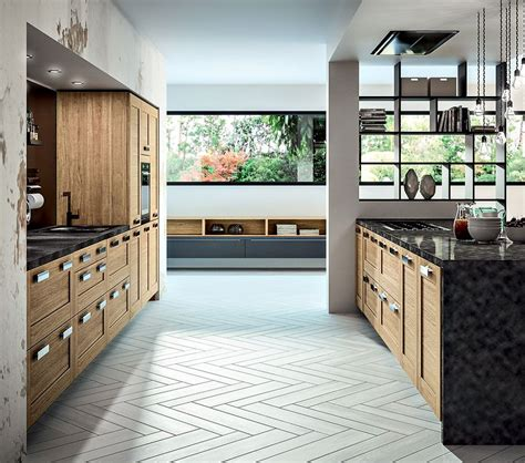 cuisine bois moderne truro ch 234 ne massif teint 233