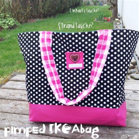 Ikea Tasche Pimpen by Ikeatsche Pimpen Anleitung Und Schnitt Strand Tasche
