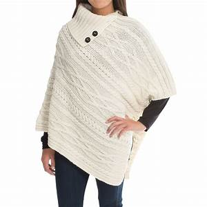 Peregrine by J.G. Glover Poncho Sweater (For Women) - Save 43%