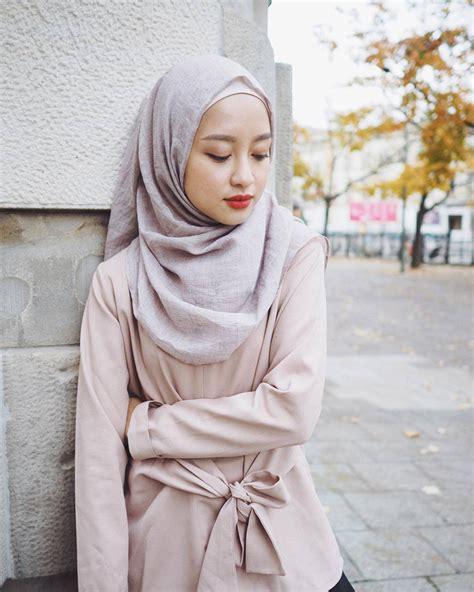 model hijab pashmina instan simple modis terbaru