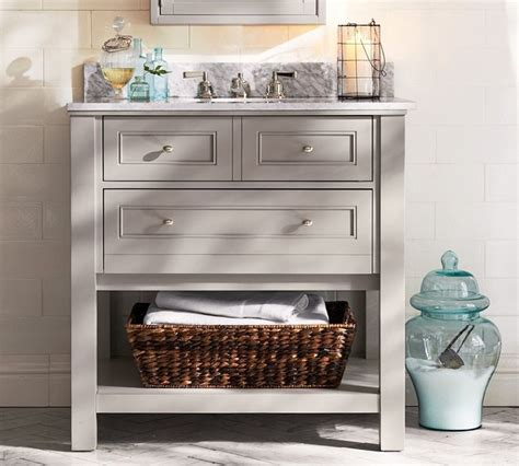 Single Sink Consoles Bathroom by Classic Single Sink Console Gray With Chrome Finish