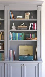 Built, In, Bookcase