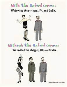 Oxford Comma Stalin
