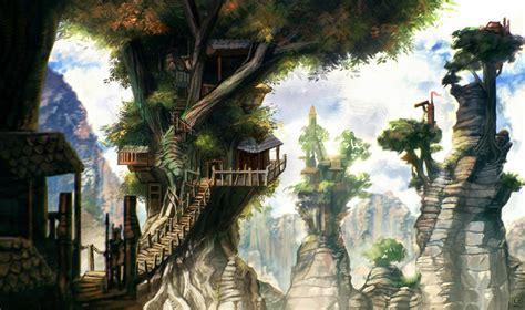 Treehouse Village By Carloscara On Deviantart
