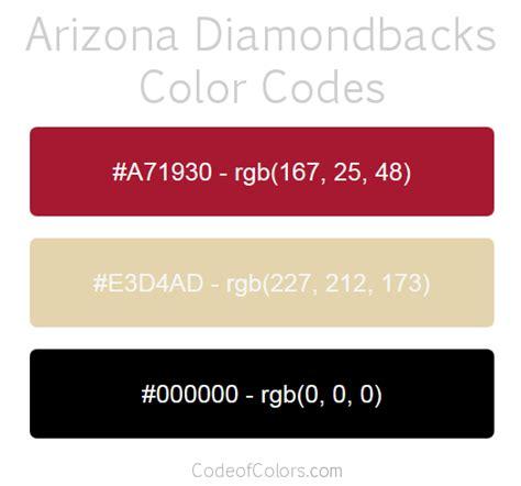 arizona diamondbacks colors arizona diamondbacks colors hex and rgb color codes