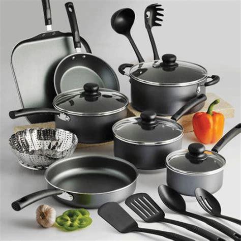 pots cuisine tramontina nonstick 18 cookware set pots pans