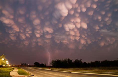 clouds mammatus cumulus storm clouds  storm